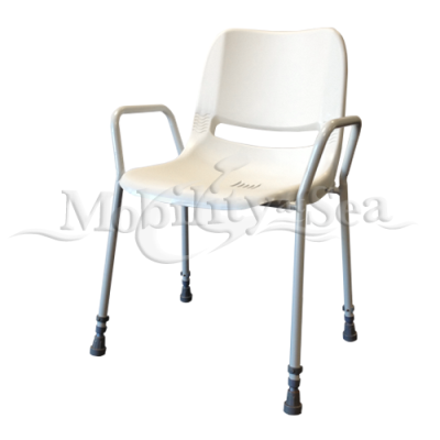 Height Adjustable Static Shower Chair