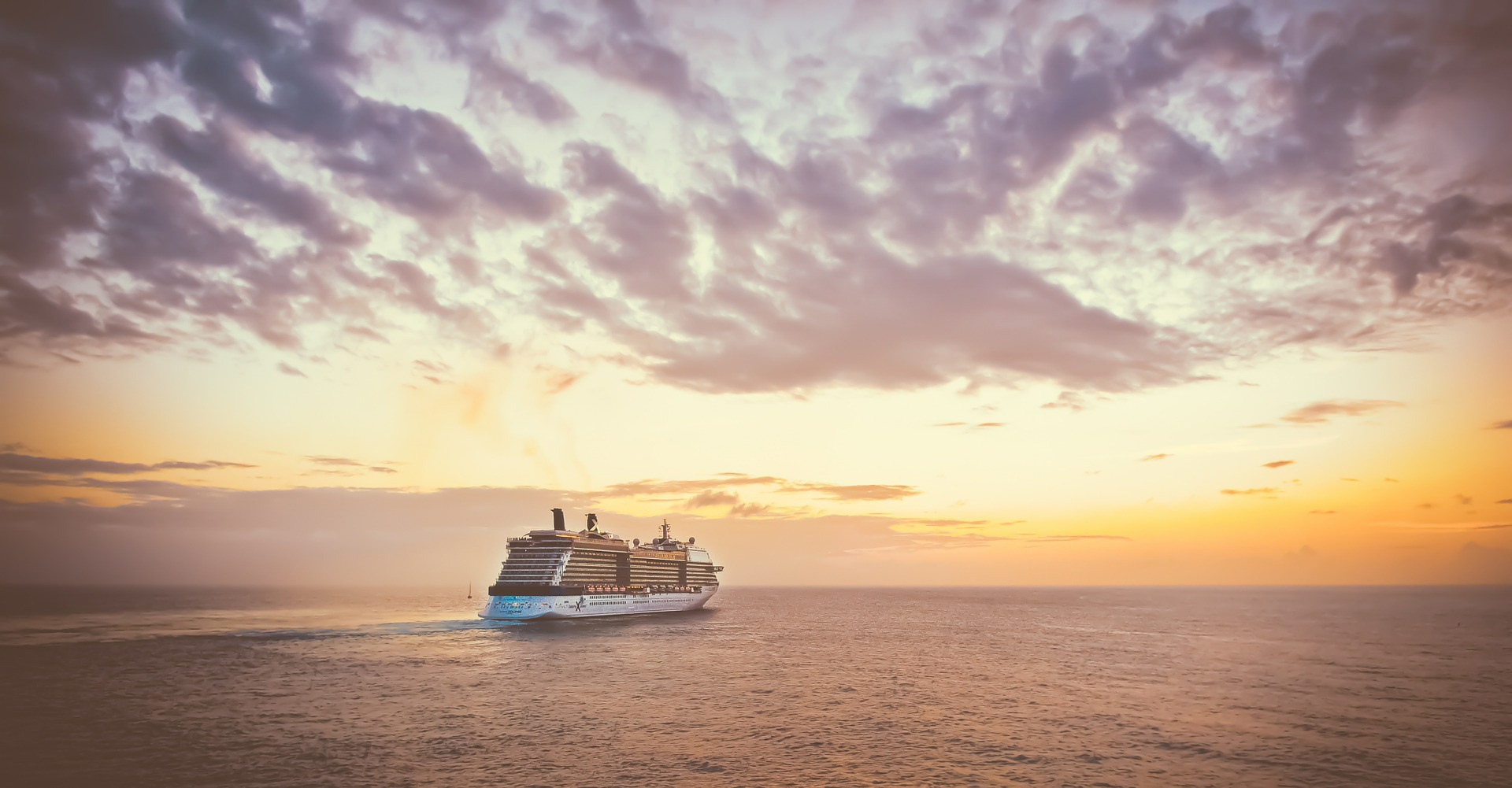 Celebrity Cruises ship seascape